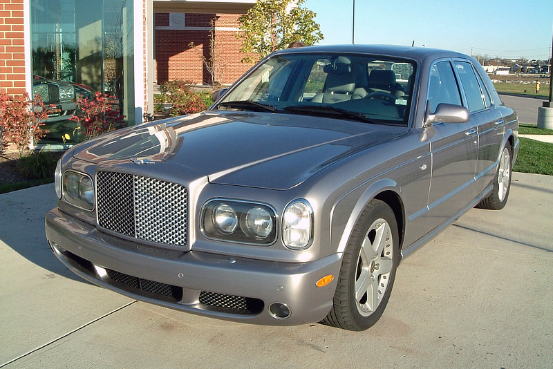 2005 Bentley Arnage.