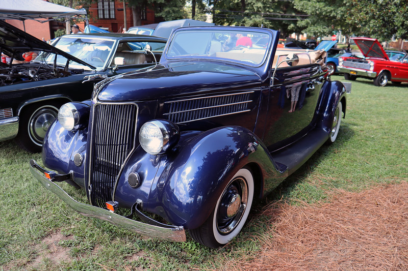 1936 Ford convertible.