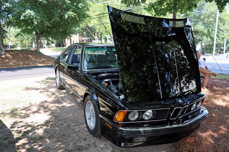 1988 BMW 635CSi.