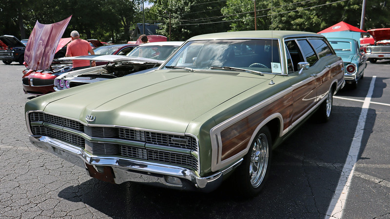 1969 Ford LTD Country Squire wagon.