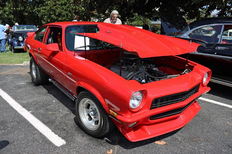 Modified Chevrolet Vega GT.