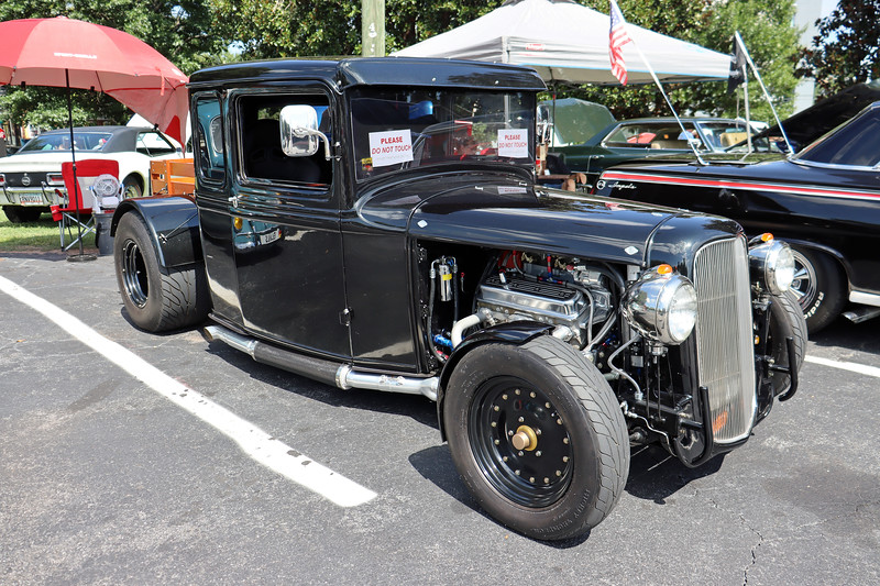 1934 Ford extended cab truck street rod.<br /> <br /> This is the same truck that won one of the Best of Show awards at the Crystal Hills Memorial Day show.