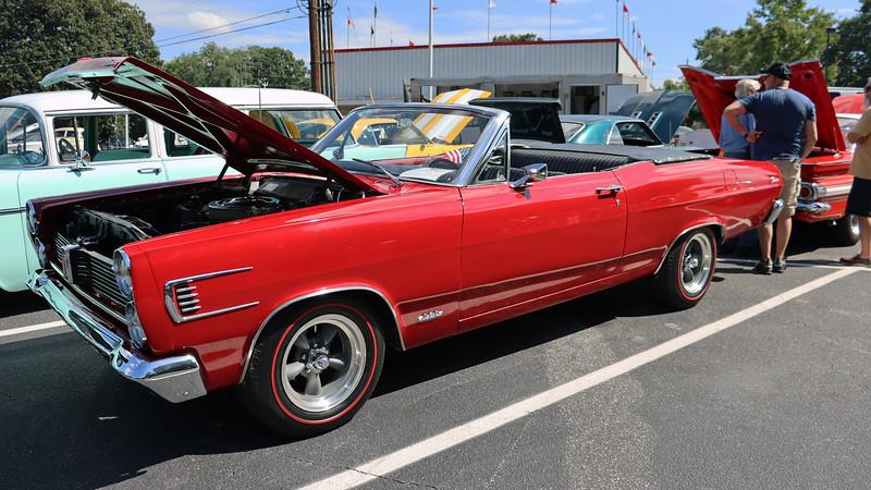1967 Mercury Comet Caliente convertible.