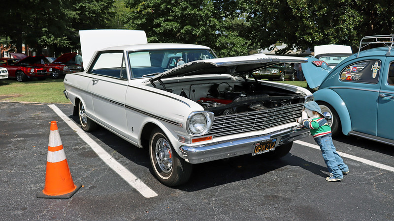 1963 Chevrolet Nova SS.  <br /> <br /> I've photographed this stunning 59k original mile car previously.