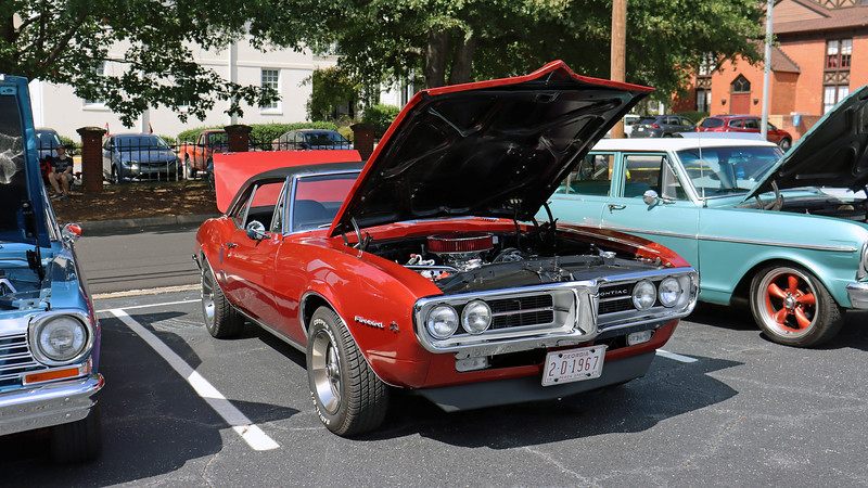 1967 Pontiac Firebird.