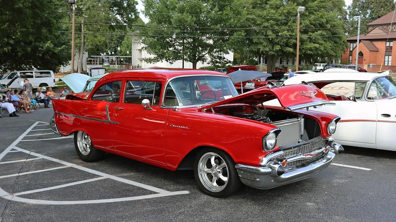 1957 Chevrolet 150 2-door sedan.