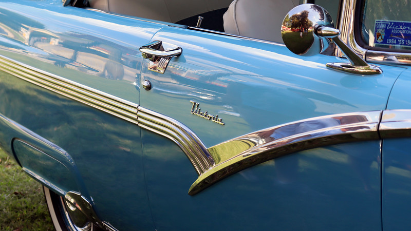 """Ford used the name """"Victoria"""" for its 2-door hardtop coupe body style."""
