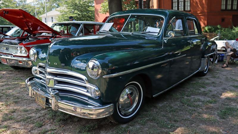 1950 Dodge Coronet sedan.