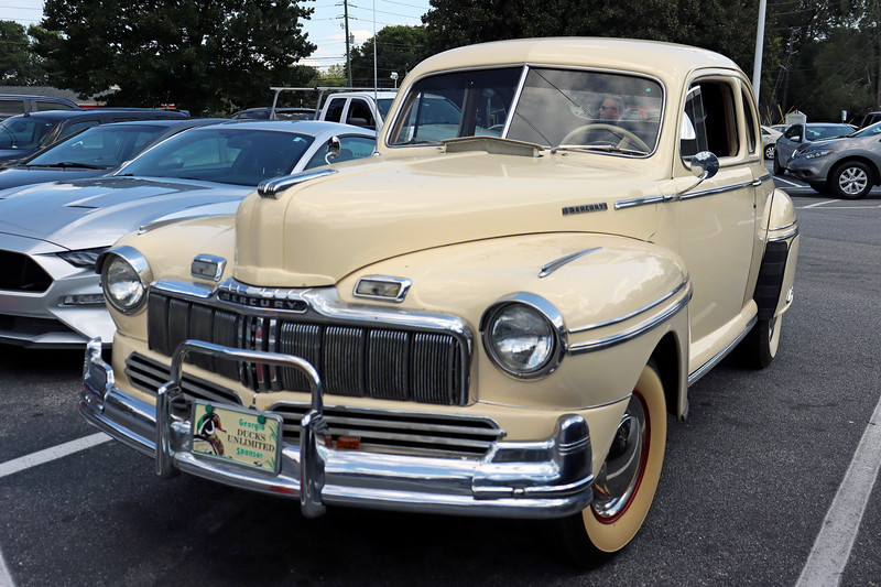 Time to get some exercise checking out the great machinery.  The 1946-48 Mercury in the photo above wasn't actually in the show, but parked in the parking lot.  Regardless, it looked pretty nice.