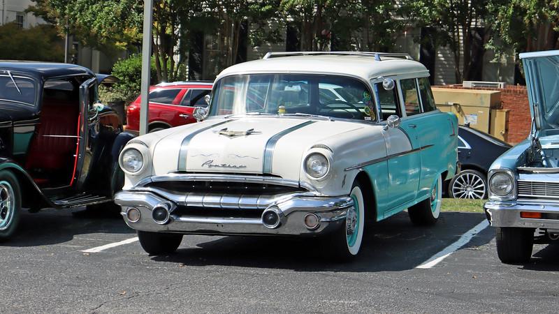 1956 Pontiac Chieftain wagon.