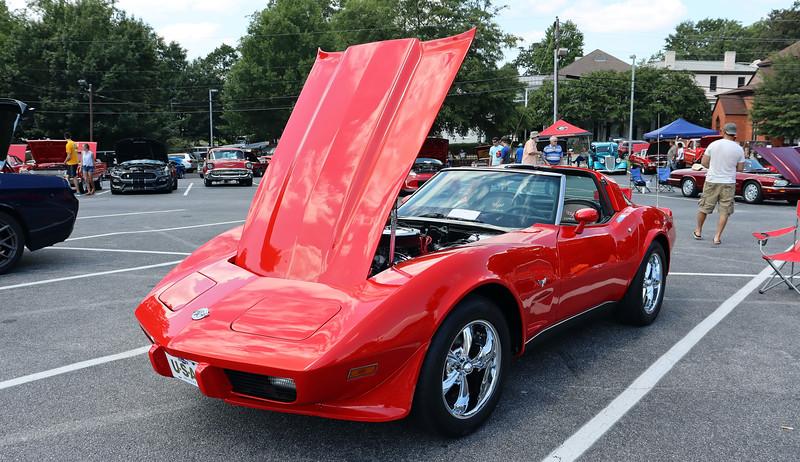 1978 Chevrolet Corvette.