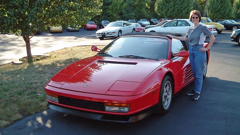 Ferrari Testarossa Spyder.
