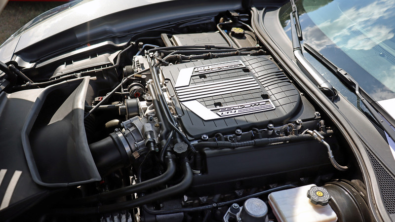 Supercharged 6.2L V8 that makes 625 hp.