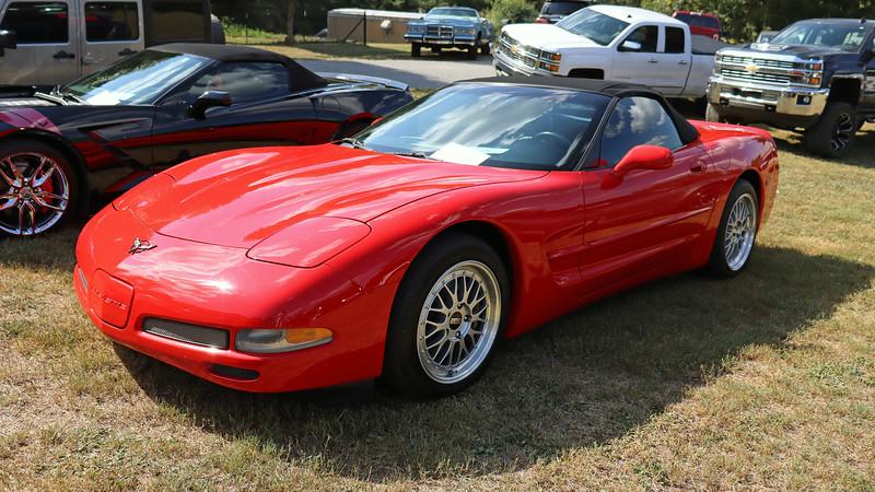 2003 Chevrolet Corvette.