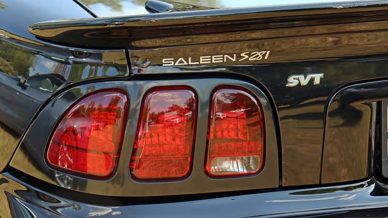 """Saleen Mustangs in general are quite rare.  But Saleen also converted a small number of SVT Cobras beginning in 1996.  And when I say """"small number,"""" I mean a total of 128 Cobras were built from 1996 - 2004."""