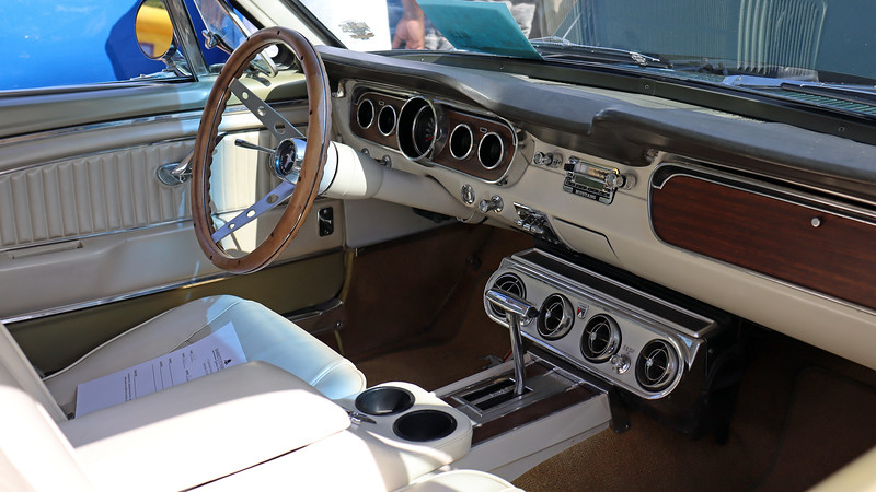 This car has vintage air conditioning.