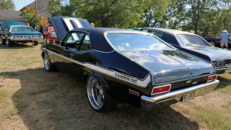 """Yenko wanted to do the same thing for the 1969 Nova.  Like the Camaro, the biggest engine available in a Nova was the L78 396.  But Chevrolet declined his request for a factory installation saying that the Nova was too """"compact"""" for the 427.  Since Chevrolet said no, Yenko installed the 427 through his Super Car program.  A total of 37 were produced and are highly sought after today."""