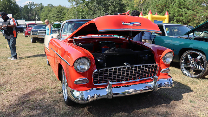 """The Bel Air name was introduced for the 1950 model year to indicate a hardtop coupe body from the upper level Styleline DeLuxe series.  Three years later, the series name, """"Styleline DeLuxe,"""" was changed to """"Bel Air.""""  So beginning in 1953, a Bel Air became available as a coupe, sedan, and convertible.  A wagon body style was added in 1954."""