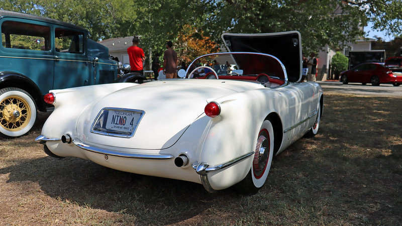 """The Corvette was one of four """"Dream Cars"""" produced by General Motors for the 1953 GM Motorama show.  Being presented as a """"Dream Car"""" generated a good bit of publicity.  Chevrolet intentionally limited production during the Corvette's introductory year of 1953 to 300 cars in an effort to help create a demand.  <br /> <br /> For 1954, the Corvette got its own assembly plant in St. Louis, Missouri that had the capacity to produce 10,000 cars per year.  The problem was that the initial Corvette with its side curtain windows, underwhelming power level, 2-speed automatic transmission, and a few nagging quality issues, didn't attract that many buyers.  The fact that it cost almost as much as a Cadillac didn't help the cause."""