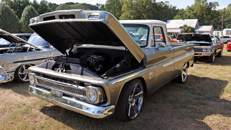 1964 Chevrolet C10 pickup.