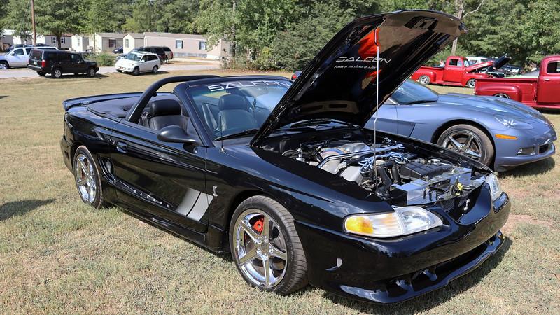 1997 Saleen S281 Mustang Cobra convertible.
