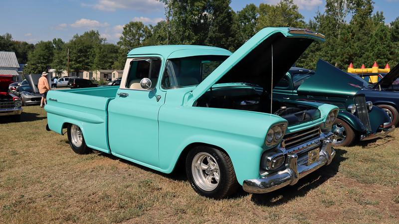 1958 Chevrolet 3100 Series pickup.