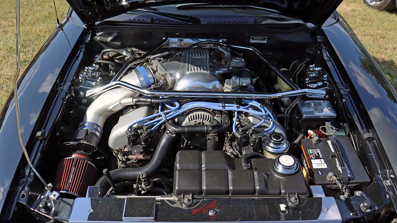 The Mustang Cobra's 32-valve 4.6L V8 makes 310 hp.