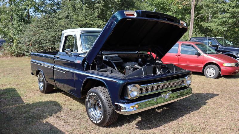 1965 Chevrolet C10 pickup.