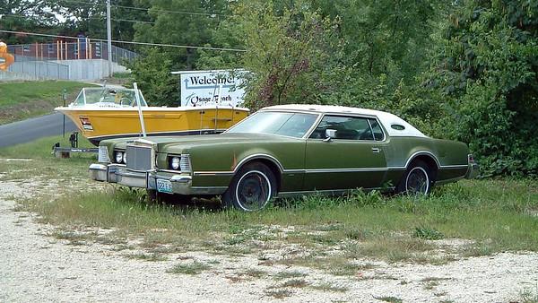 September 5, 2004:  Mark IV for sale in Osage Beach, Missouri .  .  .