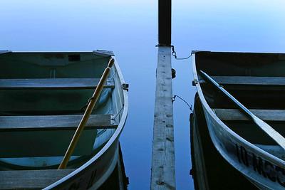 Rowboats, Blue Mountain Lake