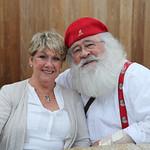 Barbara and Santa Walt Queen.