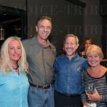 Kathleen Wilson, Michael Cosby, Jeff and Jaime Slyn.