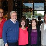 Dennis Barry, Chris Roberts, Janis Ferguson, Pamela Greene and Al Fisher.