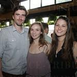 Chris Humphreys, Beth Beck and Emily Clayton.