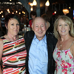 Charlotte Allen, Carl Bensinger and Toni Marhefka. Charlotte celebrated her birthday at the event.