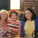 Toni Marhefka, Charlotte Allen and Lori Hallal. Charlotte celebrated her birthday at the event.