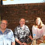 Ivan Bailen, Bob Brown and Mary Riggs.
