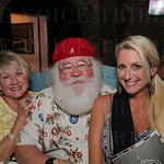 Barbara Queen, Santa Walt Queen and  Allison Lewis.
