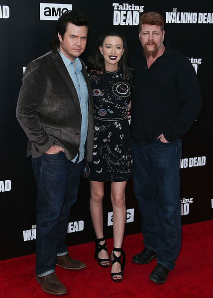 Josh McDermitt, Christian Serratos, Michael Cudlitz