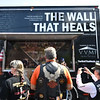 """The Wall That Heals"" lands at Crocker's Park in Fitchburg on Wednesday where it will remain for the rest of the week.  SENTINEL & ENTERPRISE JEFF PORTER"