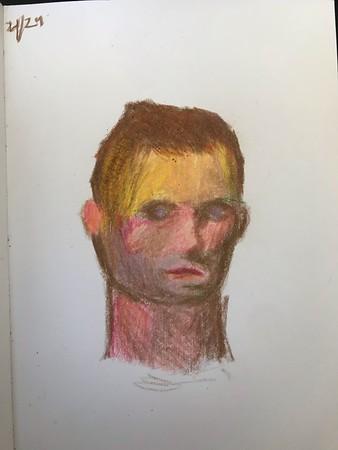 Ian Morrison - Color Self Portrait - April 29, 2020