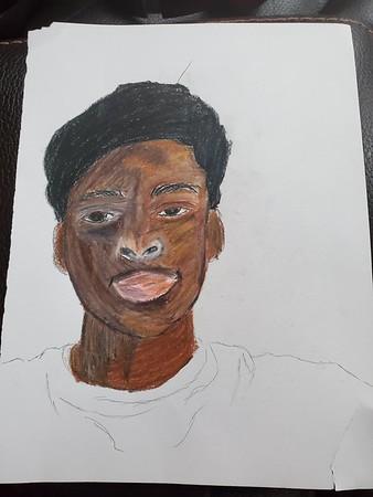 Keanu Prescod - Color Self Portrait - April 30, 2020