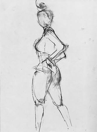 KB - Gesture drawing 1 - June 16, 2020