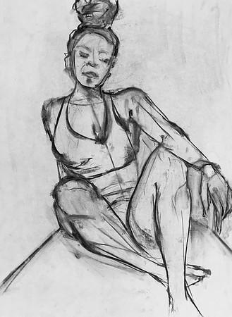 KB - Figure drawing - 10 minutes - June 16, 2020