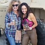 Caroline Knopp of Simply PR and Laura Melillo of YUM! Brands Foundation.
