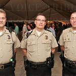 Deputy Don Lortz, Sergeant Trent Davis and Deputy Habib Kronfli of the Oldham County Sheriff\'s Office.