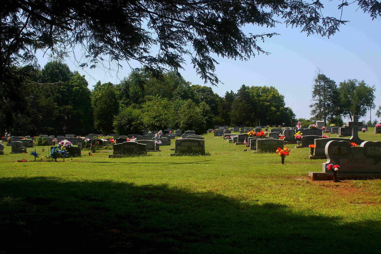 Susong Cemetary,  site of John and Virgie Poore final resting area