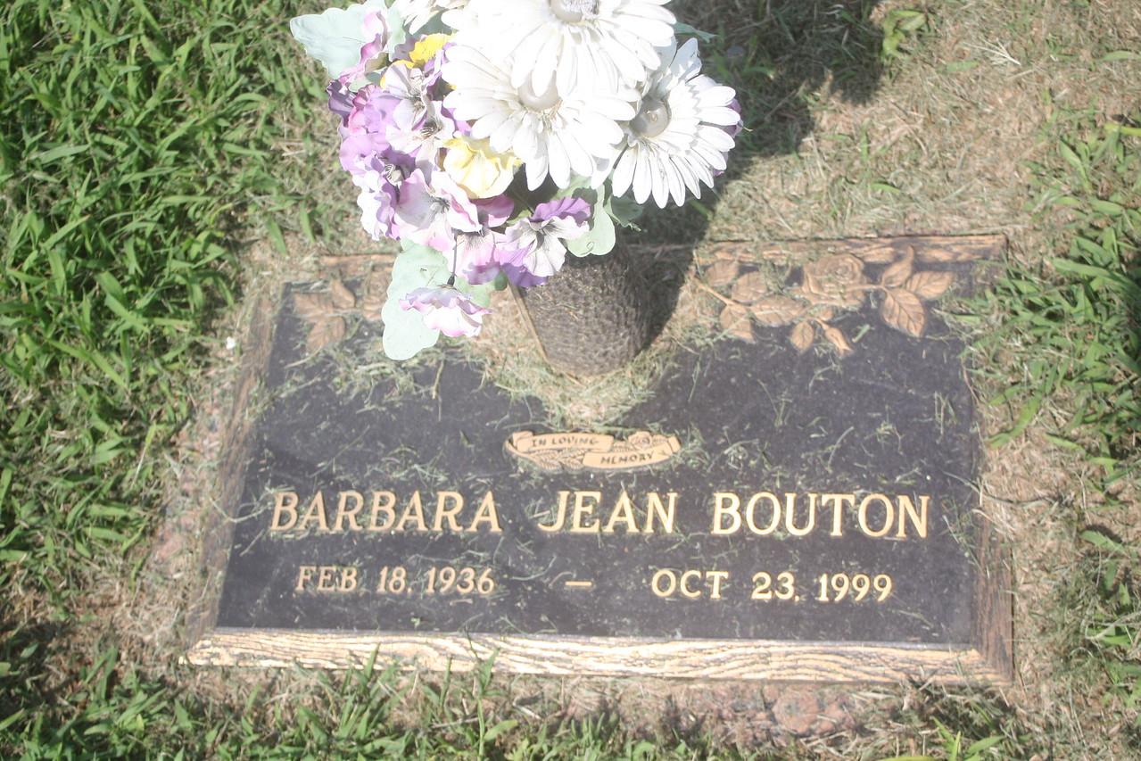 Barbara Jean Bouton, cousin to Donald Wassum