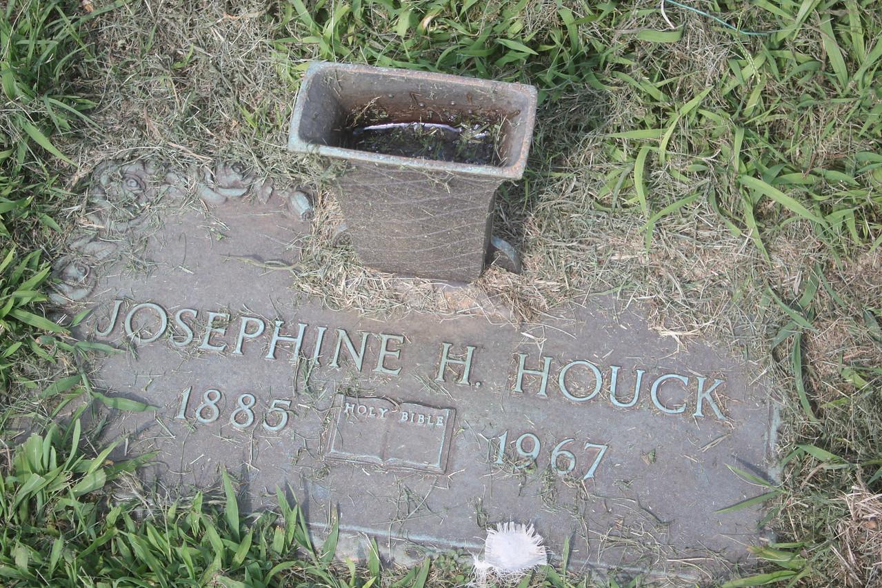 Josephine Houck, mother of Carl Wassum,