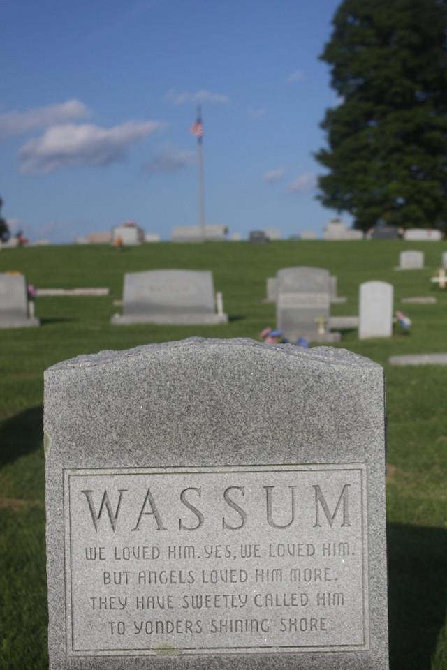 William N. Wassum grave, Marion, Virginia